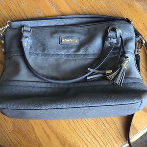 Gray Jessica Simpson purse